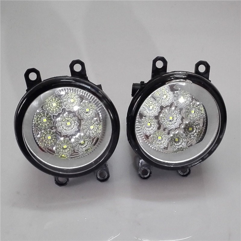 For TOYOTA Corolla Verso ( ZER_ZZE_R1 _ ) 2007 - 2009  Car styling front bumper LED fog Lights high brightness fog lamps 1set<br><br>Aliexpress