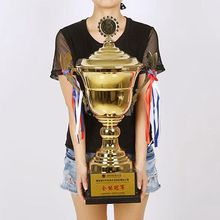 Metal Trophy Football Championship Badminton Hot-Sale New