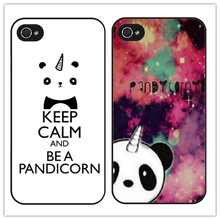 Cute keep calm and be a pandicorn cellphone Case Cover for Sony Xperia Z2 3 4 5 HTC one M7 8 9 M9 plus A9 X9 LG G2 3 4 5