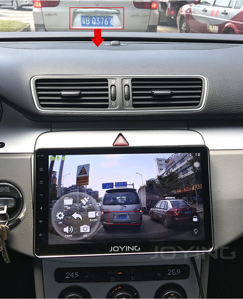 JOYING Car Radio USB Port 1080P Car Front DVR Record Voice Camera Special only For JOYING NEW Android 6.0 System model