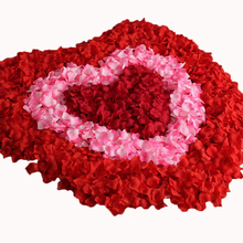 Petalas Artificiais 2000 pcs/lots Wedding Decoration Rose Petals Cheap Artificial Flowers Petals Silk Flowers AK5