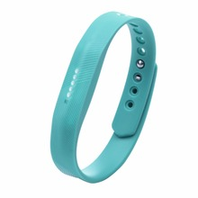 9 Colors Small Size Soft Silicone 220mm Wrist Watch band Wrist strap For Fitbit Flex 2 Smart Watch Strap watchband Wristband(China)