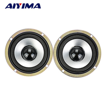 AIYIMA 2Pcs 3Inch Audio Portable Speakers Full Range 10W 4Ohm Speaker DIY HIFI Loudspeaker Car Stereo Home Theater(China)