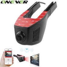 Onever 32G WiFi Car DVR Registrator Monitor Dash Camera HD 1080p Hidden Video Recorder Motion Detection APP Manipulation