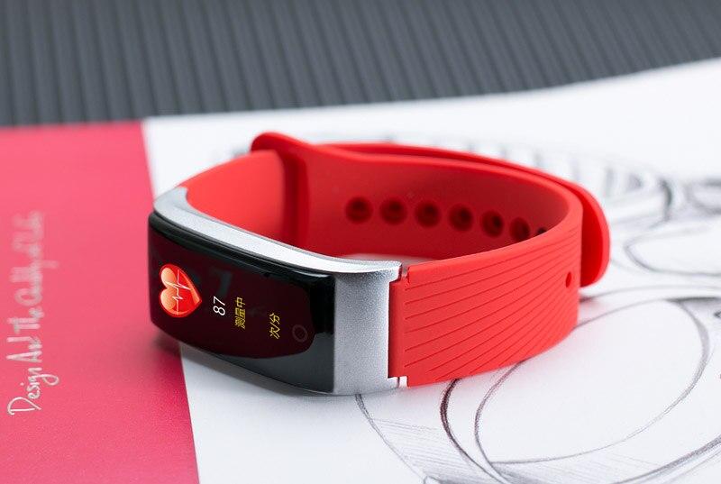 VERYFiTEK F4 Metal Smart Band Wristband Blood Pressure Heart Rate Monitor Men Women Fitness Watch Pedometer Smart Bracelet (33)