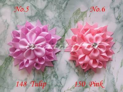 40 BLESSING Good Girl Boutique Modern Style H- Birds Nest Hair Bow Clip 158No.<br>
