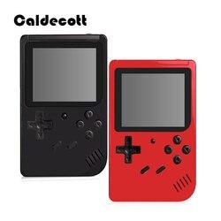 Классическая портативная игровая консоль Caldecott, ретро электронный геймпад, 3,0 дюймов, TFT lcd экран, ТВ, AV OUT, для ребенка, подарок для мальчика
