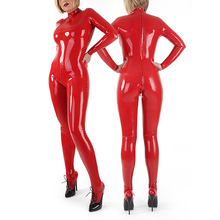 Buy Handmade Latex Rubber Catsuit Red Latex Sock Suit Coveralls Rubber Latex Straitjacket Back Zipped