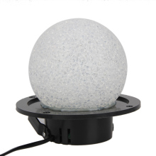 Color Change RGB LED Roundness Crystal Magic Ball Light Stage Lamp Auto or Sound Activated Modes for DJ Disco KTV FULI