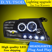 Car Styling Headlights for PAJERO 2000-2012 LED Headlight for PAJERO Head Lamp LED Daytime Running Light LED DRL Bi-Xenon HID(China)