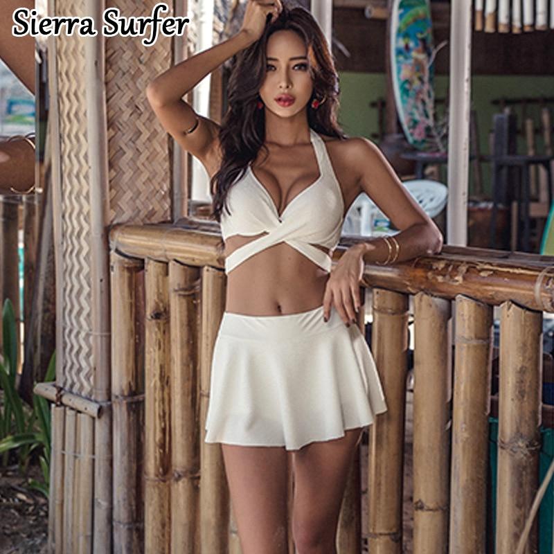 Swimming Suit Women Sexy Swimsuit Push Up Bikini Tops Plus Size Swimwear  Underwire Pad Breasts Bubble Maillot De Bain Taille<br>