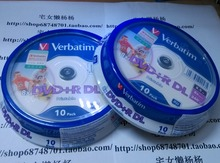freeshipping 20pack Verbatim balnk printable DVD+R DL 8X Dual Layer 20 Discs DVD +R dl 8.5GB
