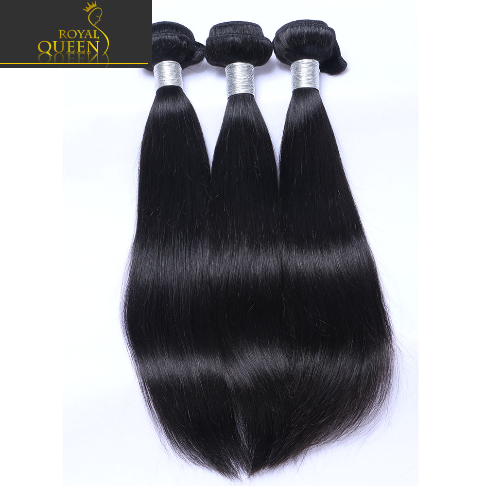 Brazilian Virgin Hair Straight Unprocessed Human Hair Weave Bundles 3Pcs/Lot 7A Cheap Brazillian Hair Extensions Natural Black<br><br>Aliexpress