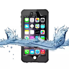 4.7 inch Entry-level Waterproof Silicone Soft TPU IP65 Case for iPhone 6s 6plus Water Proof Phone Protective Cover Coque Capinha(China)