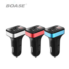 Car dual USB 3.1A car charger 12 24V car power supply with battery voltage real-time detection(China)