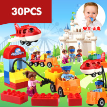 30PCS Building blocks mega blocks building construction toys toddlers models & building toy educational toys