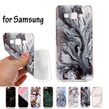 Marble Effect Soft Silicon Cover Case For Samsung Galaxy Grand Prime G530 G531 S3 S4 S5 Neo S6 S7 edge S8 S8 Plus TPU Capa Funda(China)
