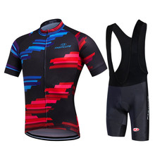 man specialized cycling jersey design Graffiti color block mens cycling jersey Customizable short sleeve set pro cycling jersey