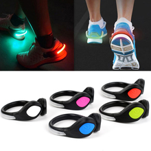 2Pcs Luces LED Bicicleta LED Shoes Cycling Shoes Clip Bike Lights Night Safety Warning LED Bright Flash Light For Running(China)