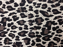 Stock Genuine Leopard Pattern Leather Fabric for Clutch/DIY/Handbag,Free Shipping(China)