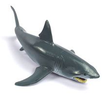 Sea animal Wild Animals Zoo Modeling Plastic Animal Toy Great White shark