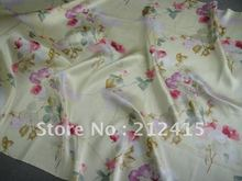 Free shipping/100% mulberry silk guarantee/ wholesale and retail/ cheap/#LS0726 silk fabric for dress(China)