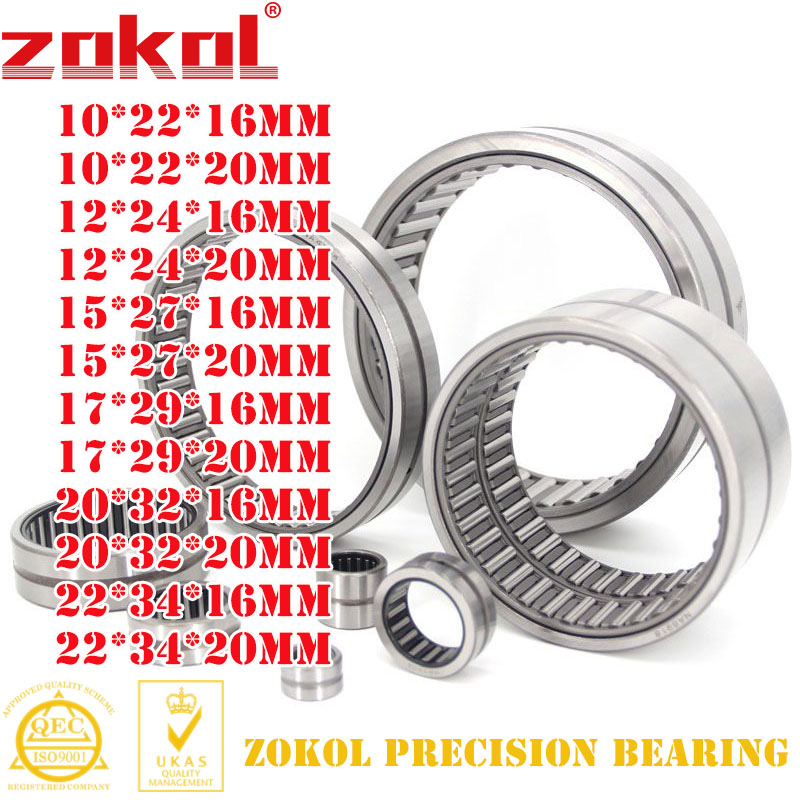 10 PCS HK2520 Needle Roller Bearing Bearings 25*32*20 HK253220 25x32x20 mm