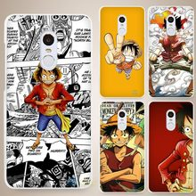 One Piece telecharger Hard White Cell Phone Case Cover for Xiaomi Mi Redmi Note 4 Pro 4A 4C 4X 5X 5 6