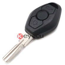 Replacement Shell Remote Key Case Cover 3 BTN for 3 5 7 SERIES Z3 Z4 X3 X5 M5 325i E38 E39 E46 BackSide with the Word 433.92MHz