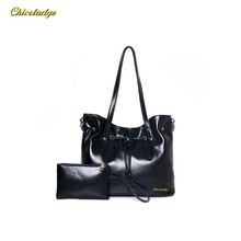 CCHICOLADYZ 2017 Women's fashion handbags umbrella high quality leather fashion designer casual tote beautiful conspicuous cz114