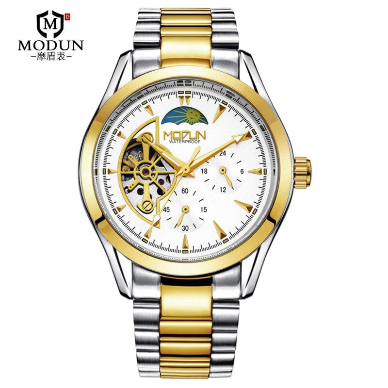 Top Brand Men Mechanical Watch Tourbillon Hollow Watch Luminous  Automatic Male Mechanical Wrist Watch Clock Reloj Automatico<br>