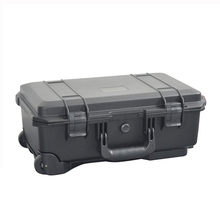 SQ5129 Portable blow molded waterproof plastic tool flight cases with foam(China)