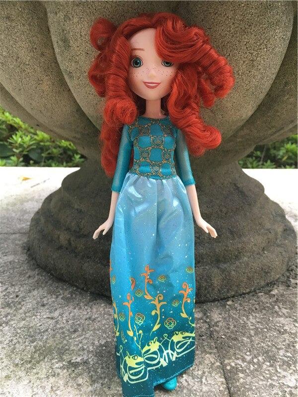 Original Princess Royal Shimmer DP 10 Merida Girl Doll Action Figure Toy Gift New Loose<br><br>Aliexpress