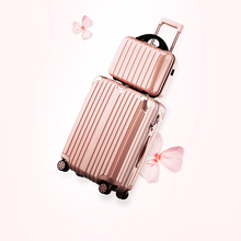 "20"" 22"" 24""  luggage sets Aluminum frame universal wheels trolley rolling luggage for male female in hotsale"
