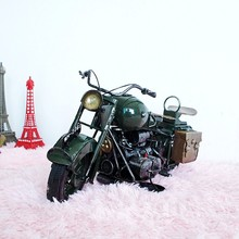 Retro iron Motorcycle model limited edition For Harley Motocross sent her boyfriend a birthday present bar Decoration