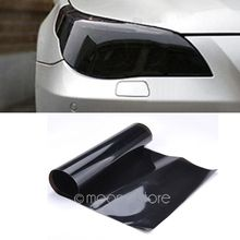 New 2016 car decoration stickers Auto Car Smoke Fog Light Headlight Taillight Tint Vinyl Film Sheet Sticker Free shipping