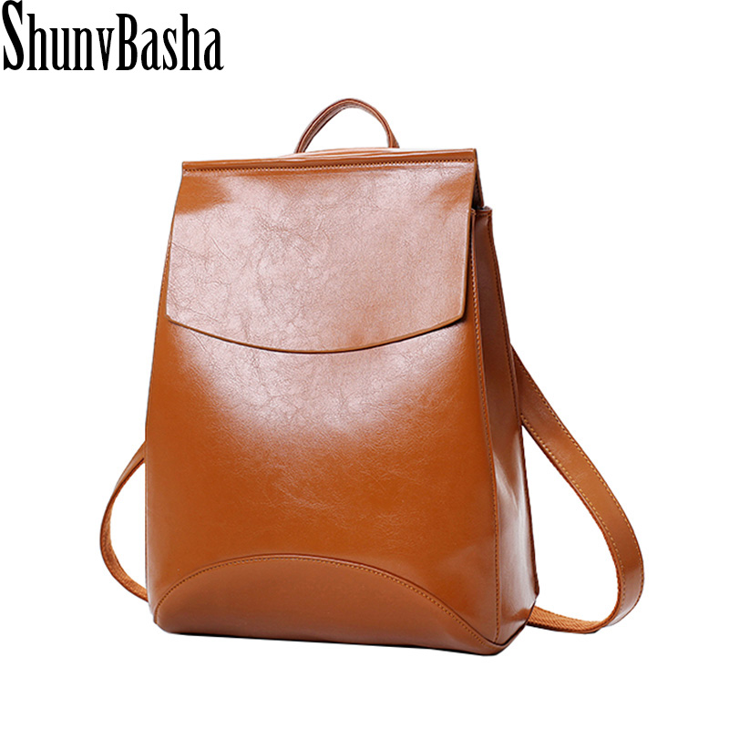 Brand Vintage backpack Pu leather Woman Backpack High Quality Softback Mochilas Mujer School Bags For Teenagers Leather Package<br><br>Aliexpress