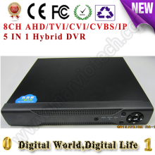 Buy 8CH AHD/TVI/CVI/CVBS/IP Digital video recorder DVR HVR NVR 1080NH AHD, support cctv analog/ahd/cvi/tvi/1080p ip Camera onvif for $52.07 in AliExpress store