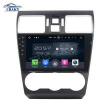 NaviTopia 9inch 2GB RAM Octa Core Android 6.0 Car DVD Player For Subaru WRX 2014 2015 2016 with Radio Audio/Mirror Link/GPS(China)