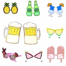 Hawaiian Novelty Sunglasses Fancy Dress Tropical Beach Party Glasses Hens Night Party Supplier