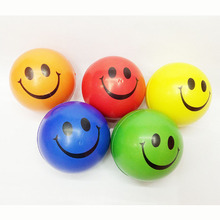 12pcs smile Emoji Face Squeeze Balls Modern Stress Ball Relax Emotional Hand Wrist Exercise Stress Toy Balls Toys for Children(China)