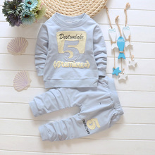 2017 Sale Infantis Childrens Spring Autumn Cotton Boys Tops And Tees Long Sleeve T Shirt +pants 2pc/set ,kids Clothes 0-4year