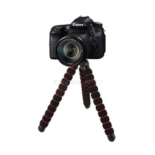 "Large Octopus Spider Flexible Mini Tripod DSLR Camera DV Stand 1/4"" 3/8"" Screw Mount For Canon Nikon(China)"