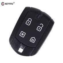 KEYYOU 10pcs/lot Car Styling 4 Button Remote Car Key Shell For FX330 Positron Control Alarm Car Key Brazil(China)