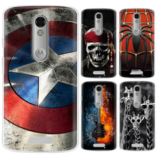 Phone case For Motorola Moto X Force/Moto Droid Turbo2/XT1581 5.4-inch Cute Cartoon Painted TPU Soft Case Silicone Cover