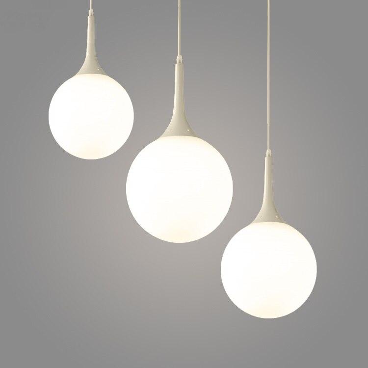 LED pendant modeling lamp Nordic modern simple cashier front desk bedroom restaurant staircase reception pendant light CL FG895<br>