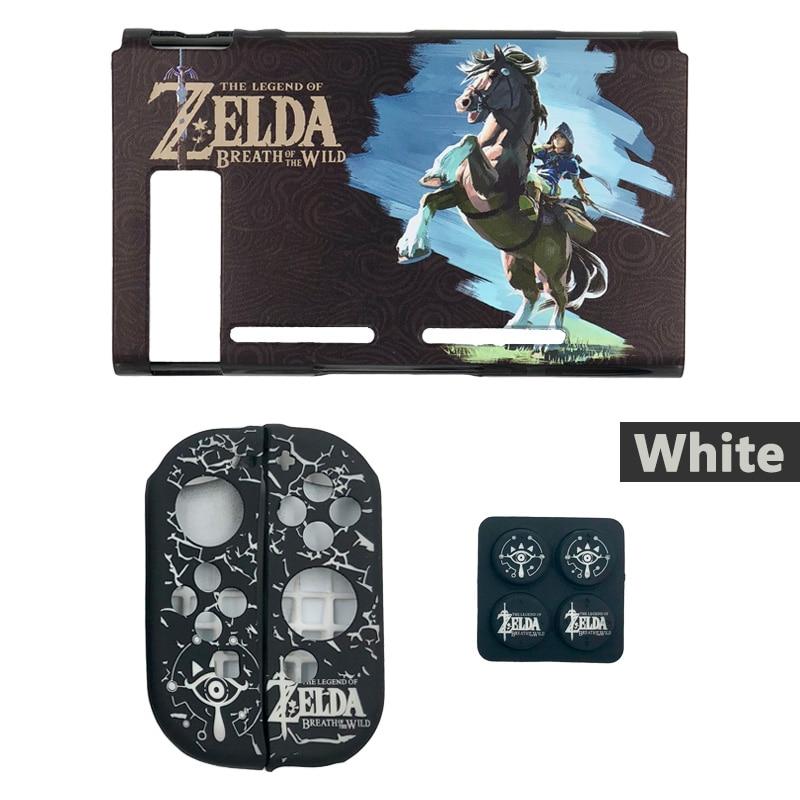 Nintendo Switch Protective Case Cover The Legend of Zelda Jon Con Grip Thumb Stick Caps Accessories-10