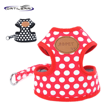 Ortilerri 2 Colors Dog Harness Canvas Dog Puppy Vest Type Traction Rope Pet Leash Walking Tool S M L Acessorios Para Cachorro