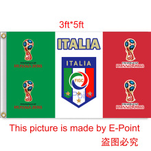 2018 Russia Football World Cup Italy National Team 3ft*5ft (90*150cm) Size Decoration Flag Banner