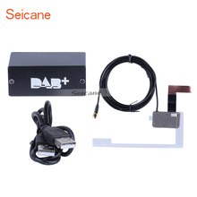 Seicane HD Car Digital Radio DAB+ Audio Receiver Radio Tuner with USB Interface RDS function(China)